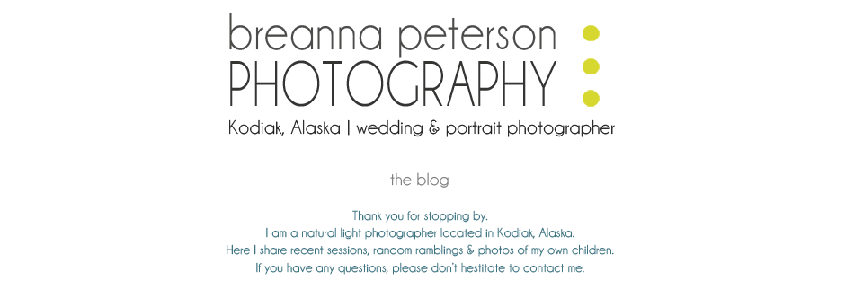 Kodiak portrait & wedding photographer